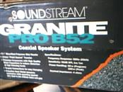 SOUND STREAM Car Speakers/Speaker System PRO B52